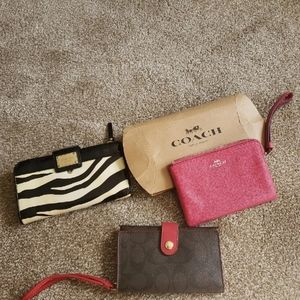Lot of 3 Designer Wallets